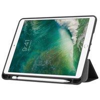Just in Case Leder Smart Tri-Fold iPad 9,7 Zoll 2017 2018 Hülle - Apple Bleistiftfach