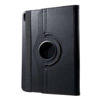 Just in Case Leder 360 Grad drehbare Abdeckung iPad Pro 11 Zoll 2018 Hoes Case - Schwarzer Schutz