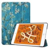 Just in Case Lederblüte iPad Mini 5 2019 Hülle Smart Tri-Fold Case - Schutzhülle
