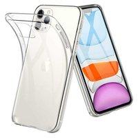 Just in Case Flexible Schutzhülle iPhone 11 TPU Klarsichthülle - Transparent