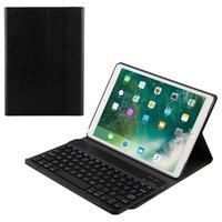 Just in Case Apple iPad Air 3 10.5 2019 Abdeckung QWERTY Bluetooth-Tastaturabdeckung - Schwarz