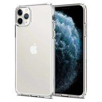 Spigen Flüssigkristall TPU Polycarbonat iPhone 11 Pro Max Hülle - Klar