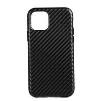 Carbon Kunststoffhülle für iPhone 12 und iPhone 12 Pro - schwarz