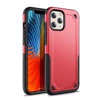 Pro Armor Kunststoff und stoßdämpfende TPU-Hülle für iPhone 12 mini - rot
