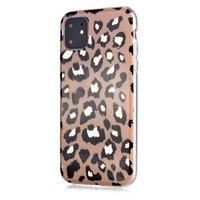 TPU-Hülle mit Leopardenmuster für iPhone 12 und iPhone 12 Pro - beige