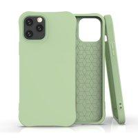 Soft Case TPU-Abdeckung für iPhone 12 und iPhone 12 Pro - grün