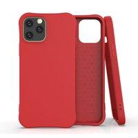 Soft Case TPU-Abdeckung für iPhone 12 und iPhone 12 Pro - rot