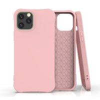 Soft Case TPU-Abdeckung für iPhone 12 und iPhone 12 Pro - pink