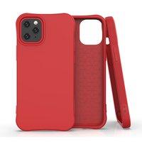 Soft Case TPU-Abdeckung für iPhone 12 mini - rot