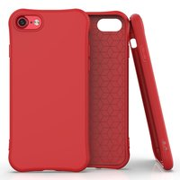 TPU-Schutzhülle für iPhone 7, iPhone 8 und iPhone SE 2020 - rot
