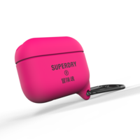 Superdry Airpod Cover Wasserdichte Silikonhülle Airpods Pro - Pink