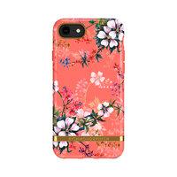 Richmond & Finch Coral Dreams Blumenetui für iPhone 6, 6s, 7, 8 und SE 2020 - orange