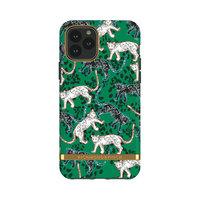 Richmond & Finch Green Leopards robuste Plastikhülle für iPhone 11 Pro - grün