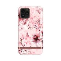 Richmond & Finch Pink Marmor florale robuste Plastikhülle für iPhone 11 Pro - Pink