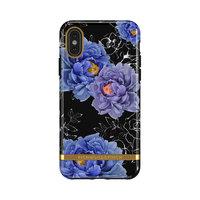 Richmond & Finch Blooming Peonies robuste Hülle für iPhone 11 Pro - blau / lila mit schwarz
