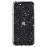 Spigen Liquid Crystal Hülle für iPhone 7, iPhone 8 und iPhone SE 2020 - transparenter Glitzer