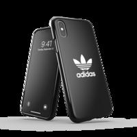 adidas Originals Plastikhülle für iPhone X und iPhone XS - schwarz