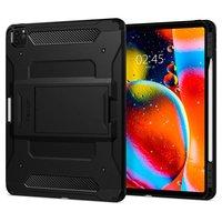 Spigen Tough Armor Kunststoff Carbon Luftkissenetui für iPad Pro 11 Zoll (2020) - Schwarz