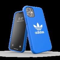 adidas Originals Plastikhülle für iPhone 12 mini - blau mit weiß