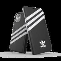 adidas Originals Kunstledertasche für iPhone 12 mini - schwarz