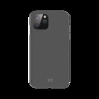 Xqisit Eco Flex Biologisch abbaubare und antibakterielle Hülle für iPhone 12 mini - grau