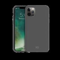 Xqisit Eco Flex Biologisch abbaubare und antibakterielle Hülle für iPhone 12 Pro Max - Grau
