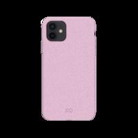 Xqisit Eco Flex Biologisch abbaubare und antibakterielle Hülle für iPhone 12 mini - pink
