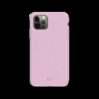 Xqisit Eco Flex Bio Abbaubare antibakterielle Hülle für iPhone 12 und iPhone 12 Pro - Pink