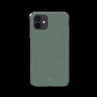 Xqisit Eco Flex Biologisch abbaubare und antibakterielle Hülle für iPhone 12 mini - grün