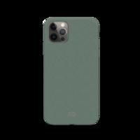 Xqisit Eco Flex Biologisch abbaubare und antibakterielle Hülle für iPhone 12 Pro Max - Grün