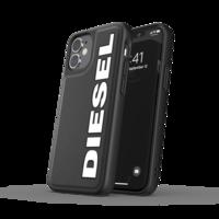 Diesel Moulded Case Kunststoffabdeckung für iPhone 12 mini - schwarz