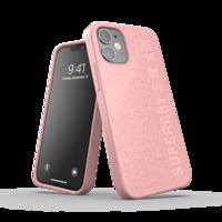 Superdry Snap Case Kompostierbare Kunststoffhülle für iPhone 12 mini - pink