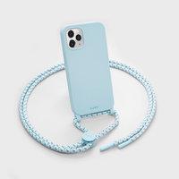 LAUT Pastels Plastikhülle für iPhone 12 und iPhone 12 Pro - blau