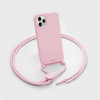 LAUT Pastels Plastikhülle für iPhone 12 und iPhone 12 Pro - pink