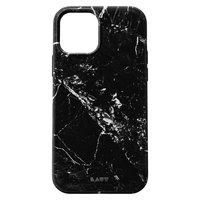 LAUT Huex Plastikhülle für iPhone 12 und iPhone 12 Pro - schwarzer Marmor