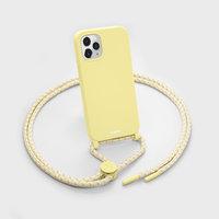 LAUT Pastels Plastikhülle für iPhone 12 und iPhone 12 Pro - gelb