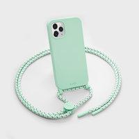 LAUT Pastels Plastikhülle für iPhone 12 und iPhone 12 Pro - grün