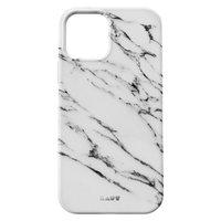 LAUT Huex Plastikhülle für iPhone 12 und iPhone 12 Pro - weißer Marmor