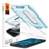 Spigen Glassprotector iPhone 12 und 12 Pro 2 Stück - 9H Härte