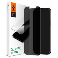 Spigen Glassprotector Datenschutzbeschichtung iPhone 12 und 12 Pro - Schutz