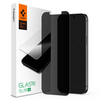 Spigen Glassprotector Datenschutzbeschichtung iPhone 12 mini - Schutz 9H