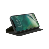Xqisit Eco Wallet Selection biologisch abbaubare Hülle für iPhone 12 und iPhone 12 Pro - schwarz