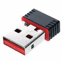 WiFi Dongle Stick USB-Netzwerkadapter Wireless Wireless 802.11n - Schwarz