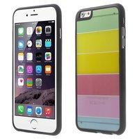 Transparente farbige iPhone 6 Plus iPhone 6s Plus Hülle Regenbogenstreifen
