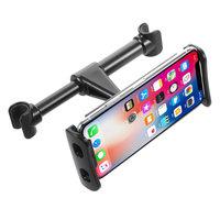 Tablet Halter Handyhalter Kopfstütze Autositz Rücksitz 4-11 Zoll für iPhone iPad Samsung - Schwarz