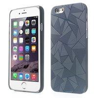 Dreieck Aluminium Hülle iPhone 6 Plus / 6s Plus Schwarz Hartschale Dreieck Abdeckung
