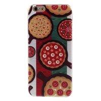 Pizza Fall TPU iPhone 6 6s Italienische Flagge Grün weiß rot Italien Abdeckung