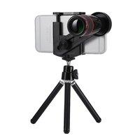 Universal Teleobjektiv 12x optischer Zoom iPhone Objektiv - Stativ - Stativ - Schwarz