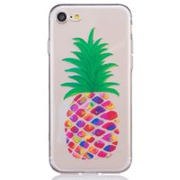Ananas Hülle transparent iPhone 7 8 SE 2020 Silikon Ananas Hülle Bunt