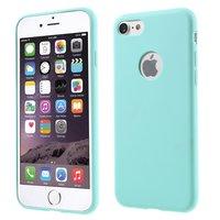 Hellblaue Silikonhülle iPhone 7 8 hellblaue Hülle Solid Blue Hülle